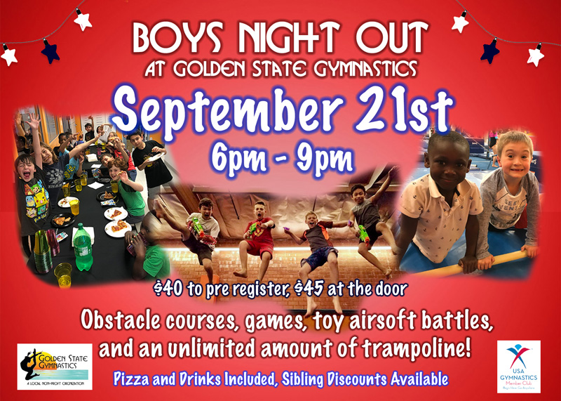 Boys Night Out Party